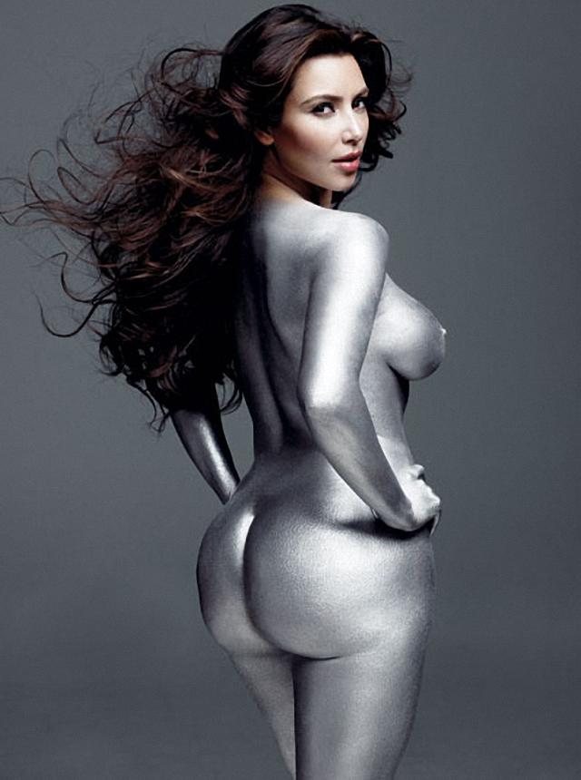 Kim Kardashian W Magazine desnuda