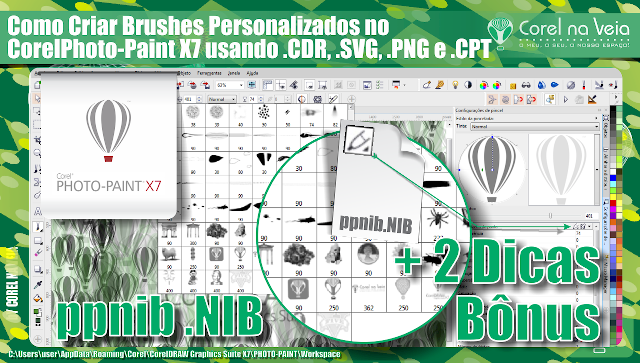Como Criando brushes com CorelDraw