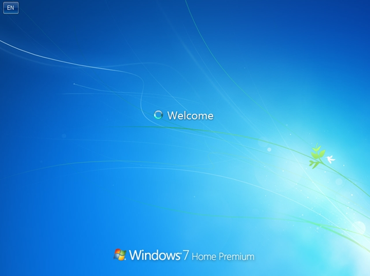 Logon Screen Windows 7