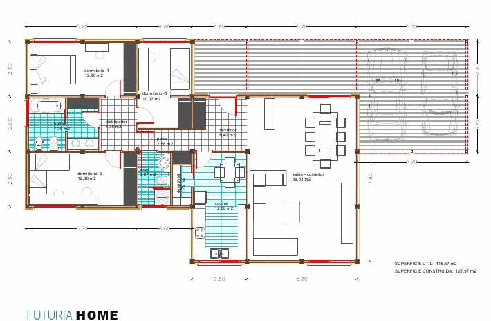 Arquitectura arquidea futuria home nos presenta sus - Planos casas modulares ...