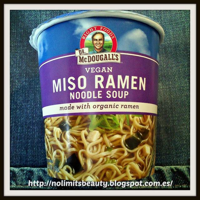 iHerb: Miso Ramen Noodles de Dr. McDougall's