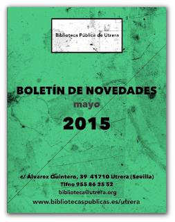Boletín de novedades Enero-Mayo 2015