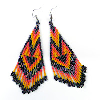купить украшения ручной работы этнические яркие индейские