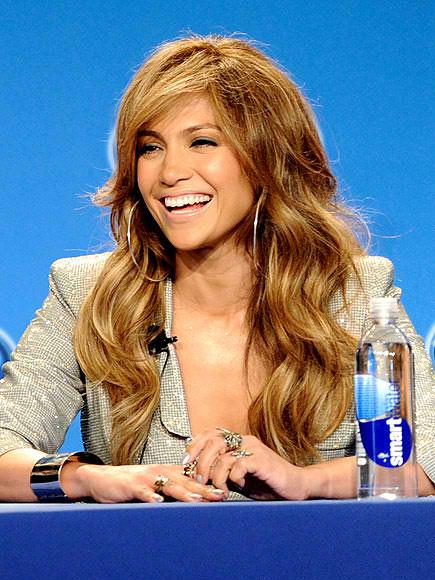 Jennifer Lopez American Idol Hair