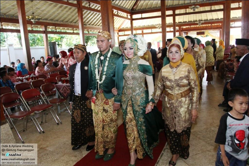 foto pernikahan pengantin adat jawa prosesi panggeh