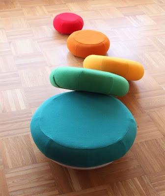 mesa puf diseño