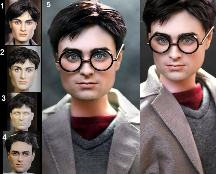 06-Harry-Potter-Daniel-Radcliffe-Noel-Cruz-Hyper-Realistic-Make-up-on-small-Dolls-www-designstack-co