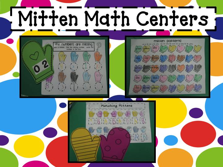 Mrs. Mayas' Kindergarten: The Mitten