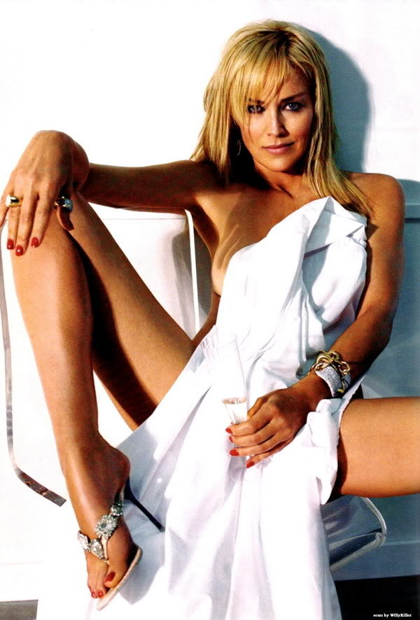 Claire celebrity sharon stone for Best online photo gallery