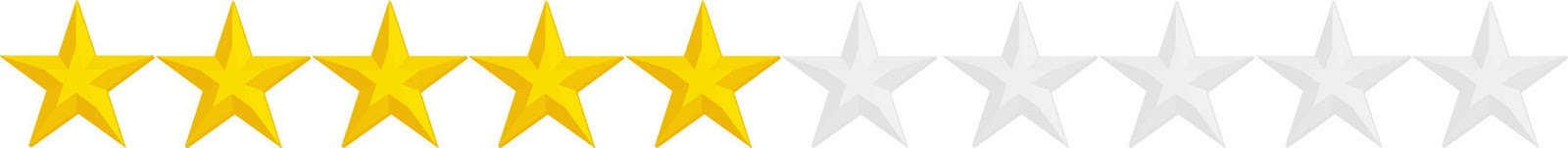 Image result for 5 stars out of 10