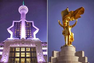 Ashgabat Tele-radio Center dan Saparmurat Niyazov
