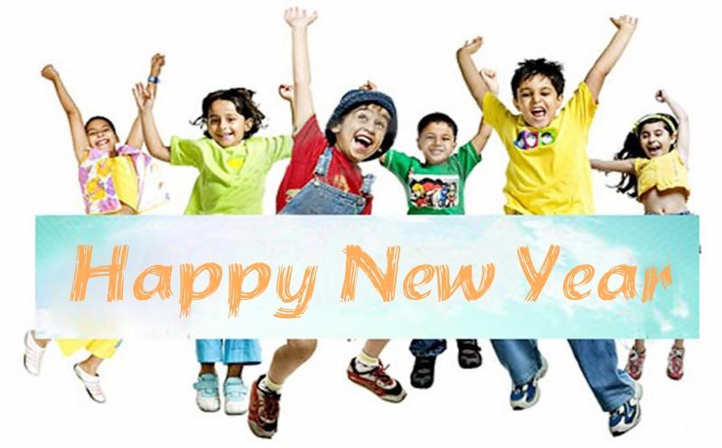 New Year Pic of Children