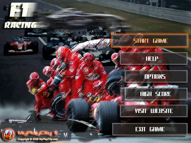 f1 race game