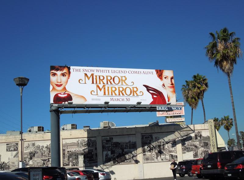 Mirror Mirror billboard