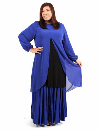 Anda Mencari Baju Plus Size. Ready Suitable Up To 2XL - 7XL
