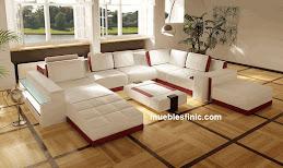sala moderna con luz