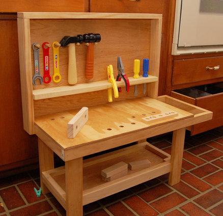 childrens workbench plans
