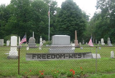 Freedom Cemetery Freedom Ohio