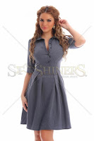 Rochie PrettyGirl Potion Grey (PrettyGirl)