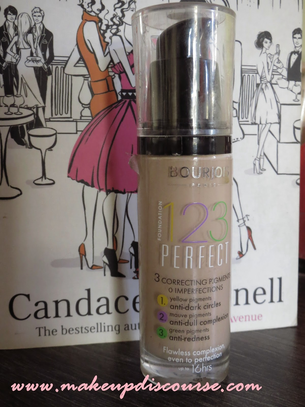 Bourjois 123 Perfect Foundation Review: Swatch and FOTD in India