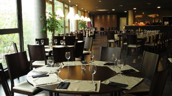 Restaurante Frangus. Interior del comedor.