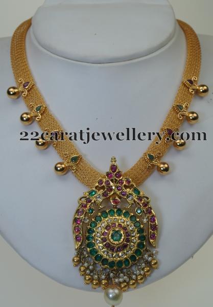 Gemstone Set by Swarnasri Jewellers