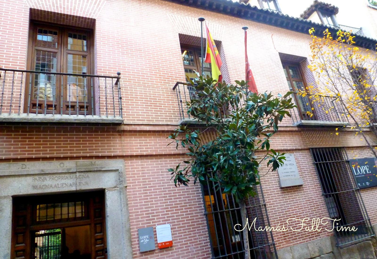 Visita Madrid Historia Teatro Lope de Vega