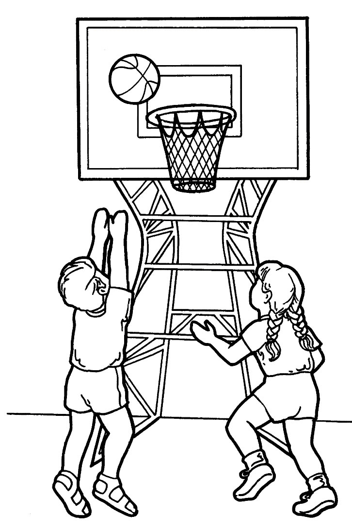 Home Sport Coloring Pages Sport Coloring Page For Kids