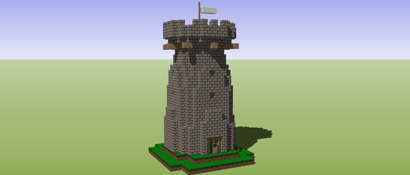Me2005's Minecraft Builders Blog: Tutorial: How to build a Warcraft 2 ...