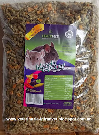 ALIMENTO PARA CHINCHILLAS UNION PET 3 KG $ 60.00 + Gtos de envío