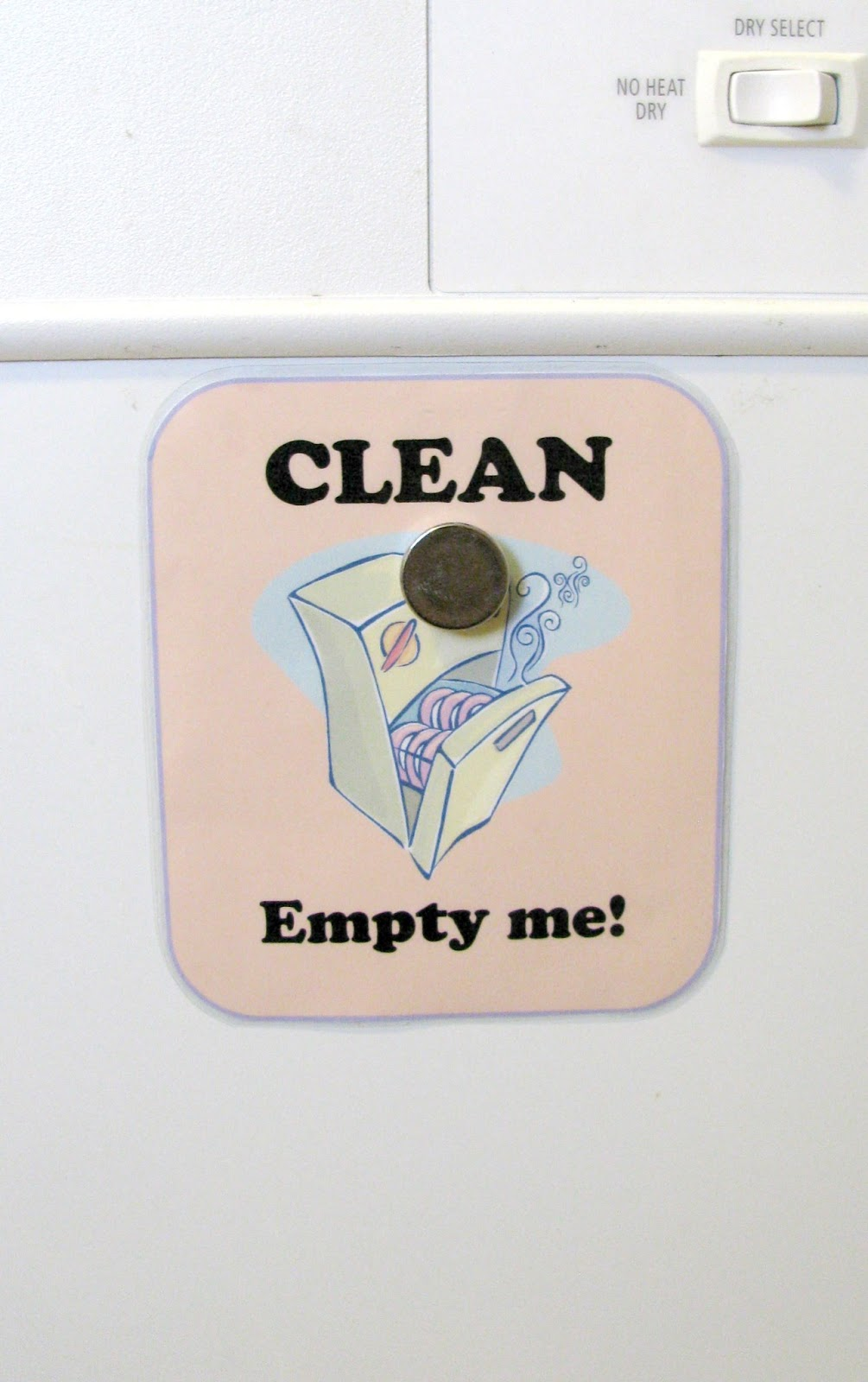What's Up Fagan's?: Dishwasher Clean and Dirty Sign - Free Printable