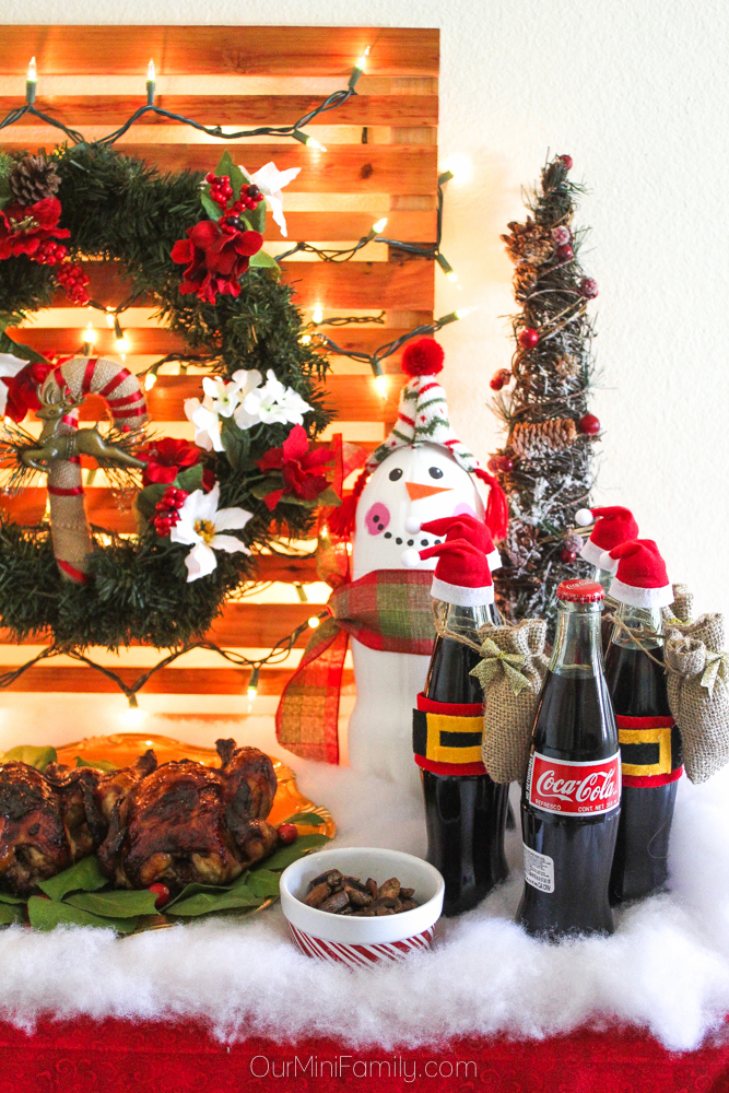 Our Mini Family: How to Host a Holiday Party with Coca-Cola