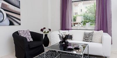 sala apartamento pequeño femenino