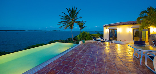 Prime waterfront real estate in the Turks and Caicos Islands