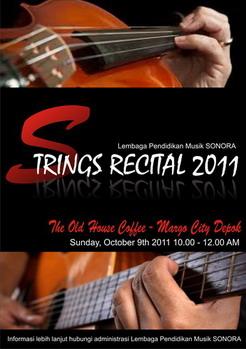 Strings Recital 2011