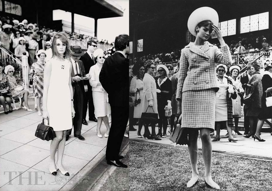 Jean Shrimpton in Melbourne