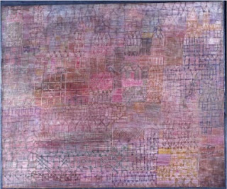 Paul Klee painting - Cathedrals