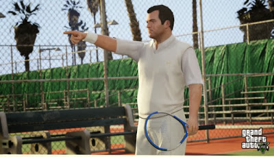 Grand Theft Auto V Tennis Court Secrets