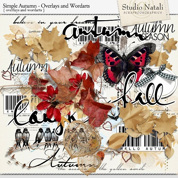 Simple Autumn Overlays