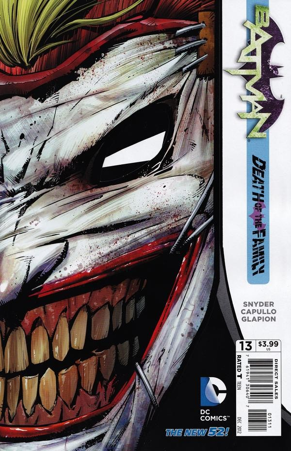 Batman Joker Face Ripped Off In The Mouth Of Dorkne...