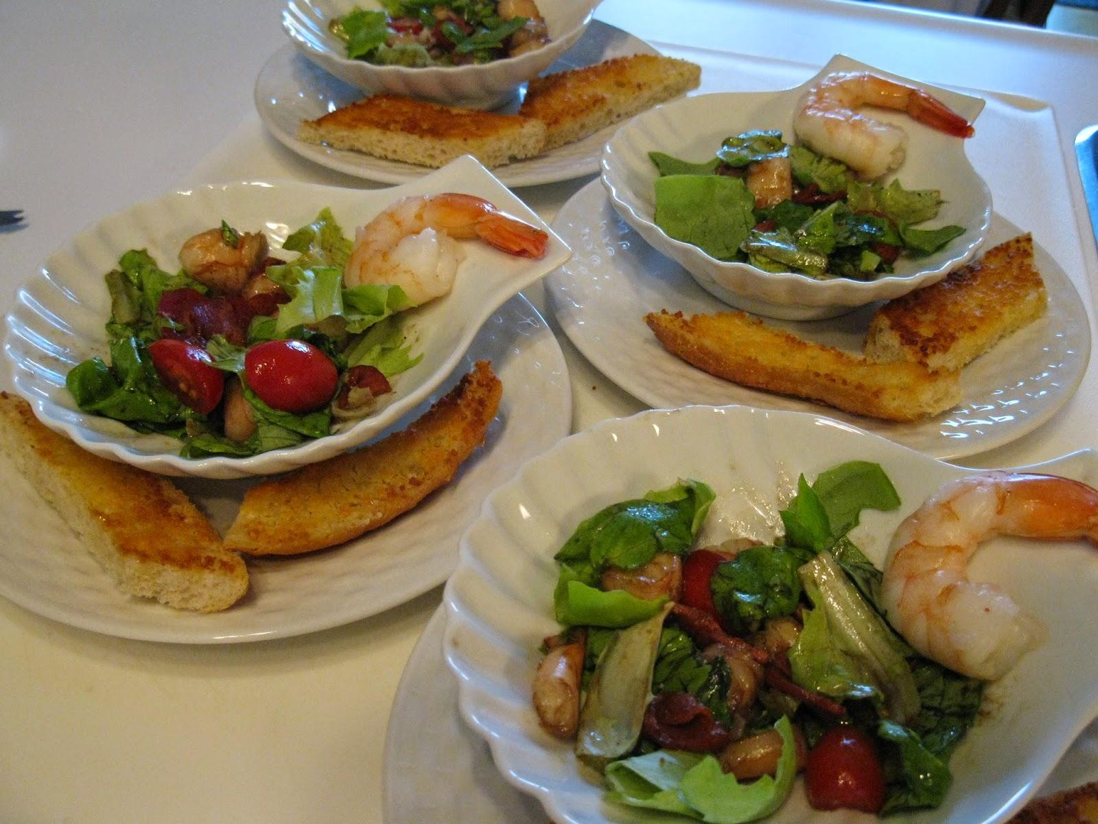 Ma cuisine sans pr tention entr e de salade boston for Salade en entree originale