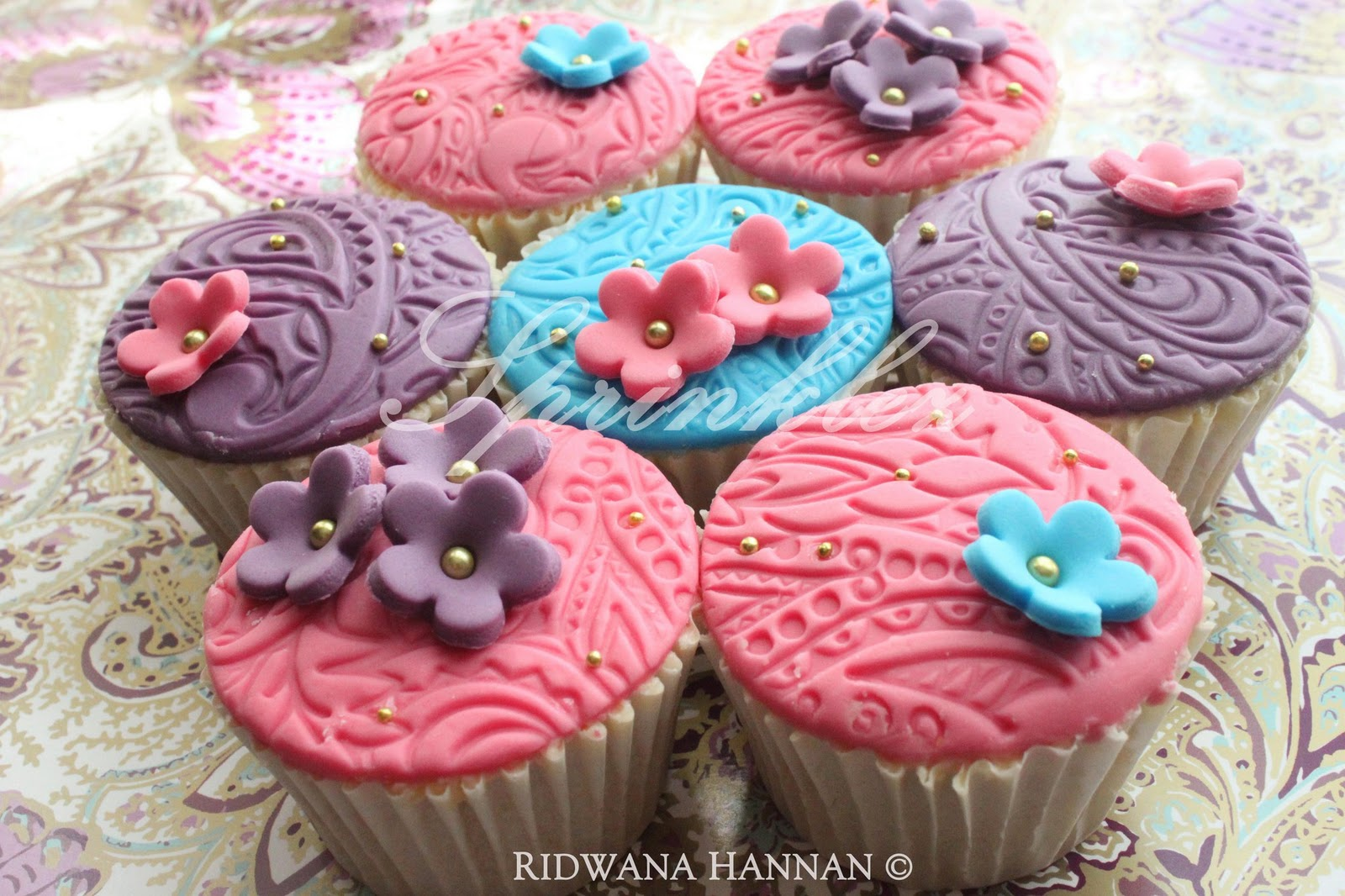 Cupcakes...by Sprinklez Liverpool - Asian Wedding Ideas