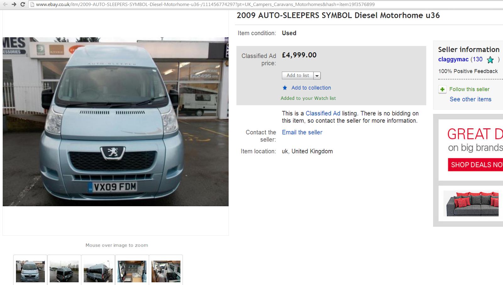 Http www ebay co uk itm 2009 auto sleepers symbol diesel motorhome u36 111456774297 pt uk_campers_caravans_motorhomes hash item19f3576899