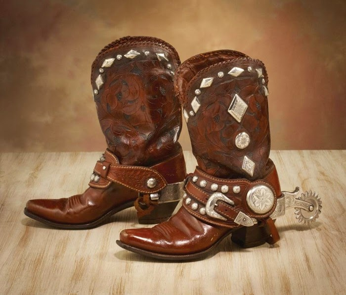 Spurs sepatu Cowboy