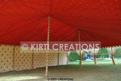 Wonderful Raj Tent