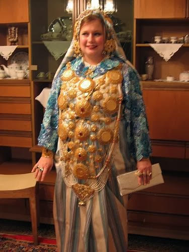 Fashion Libyan Traditional Costume