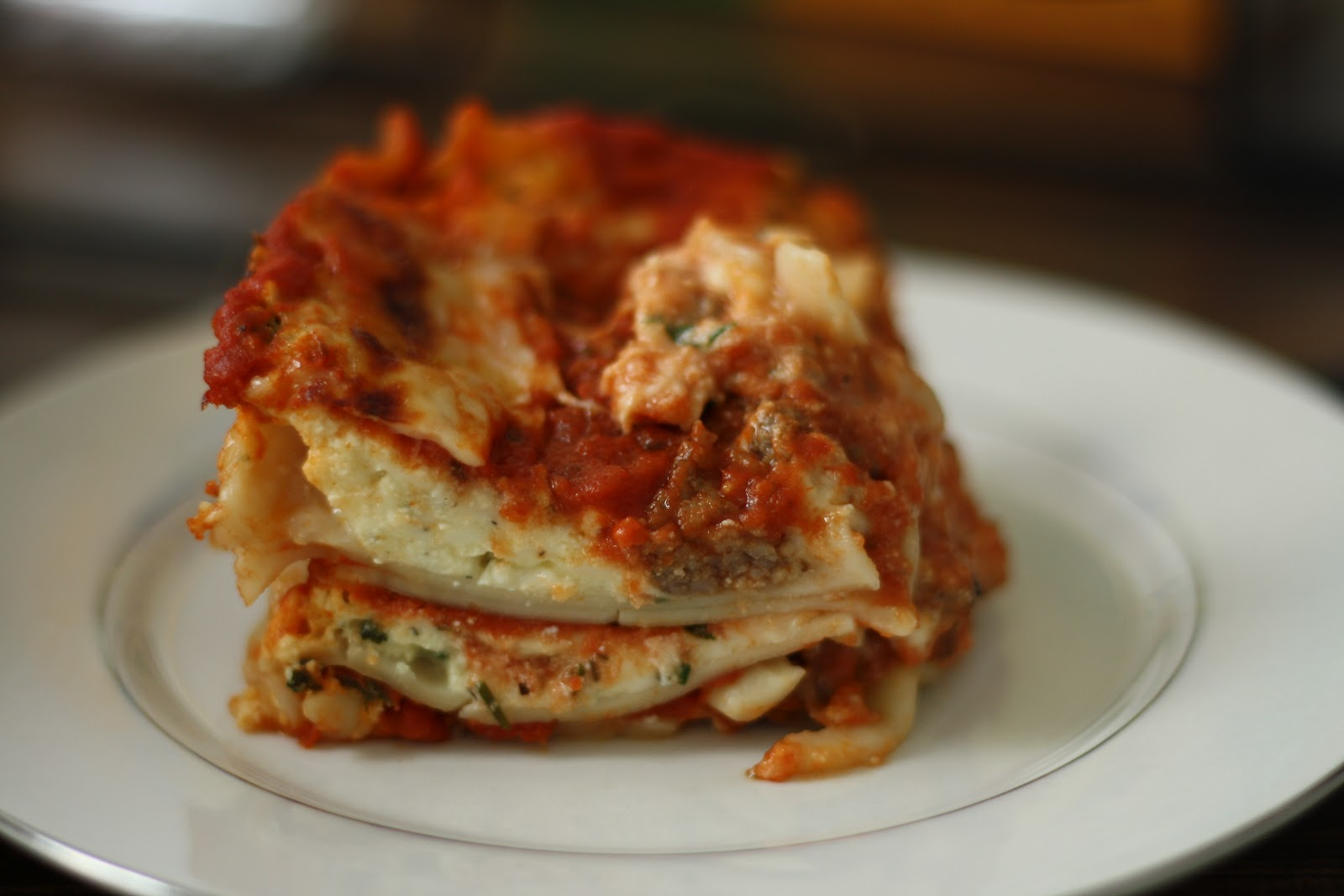 Brown rice lasagna noodles