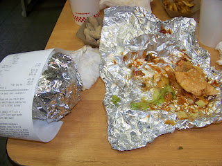 A whole other give guys burger!  Thank you five guys!