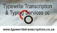 Transcription and Typing Services Johannesburg