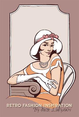 moda donna vintage, anni passati